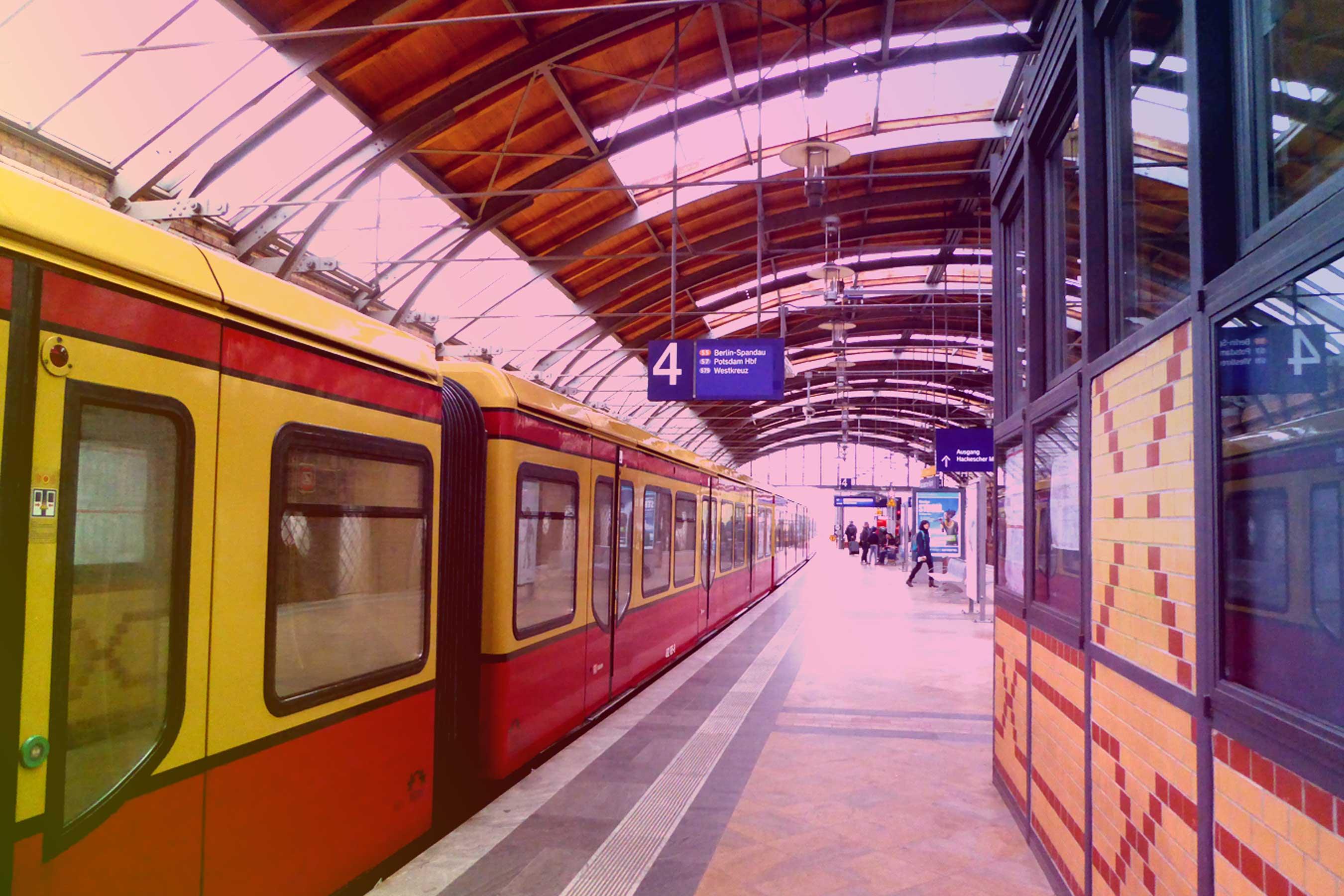 Spurensuche-Berlin-S-Bahnstation