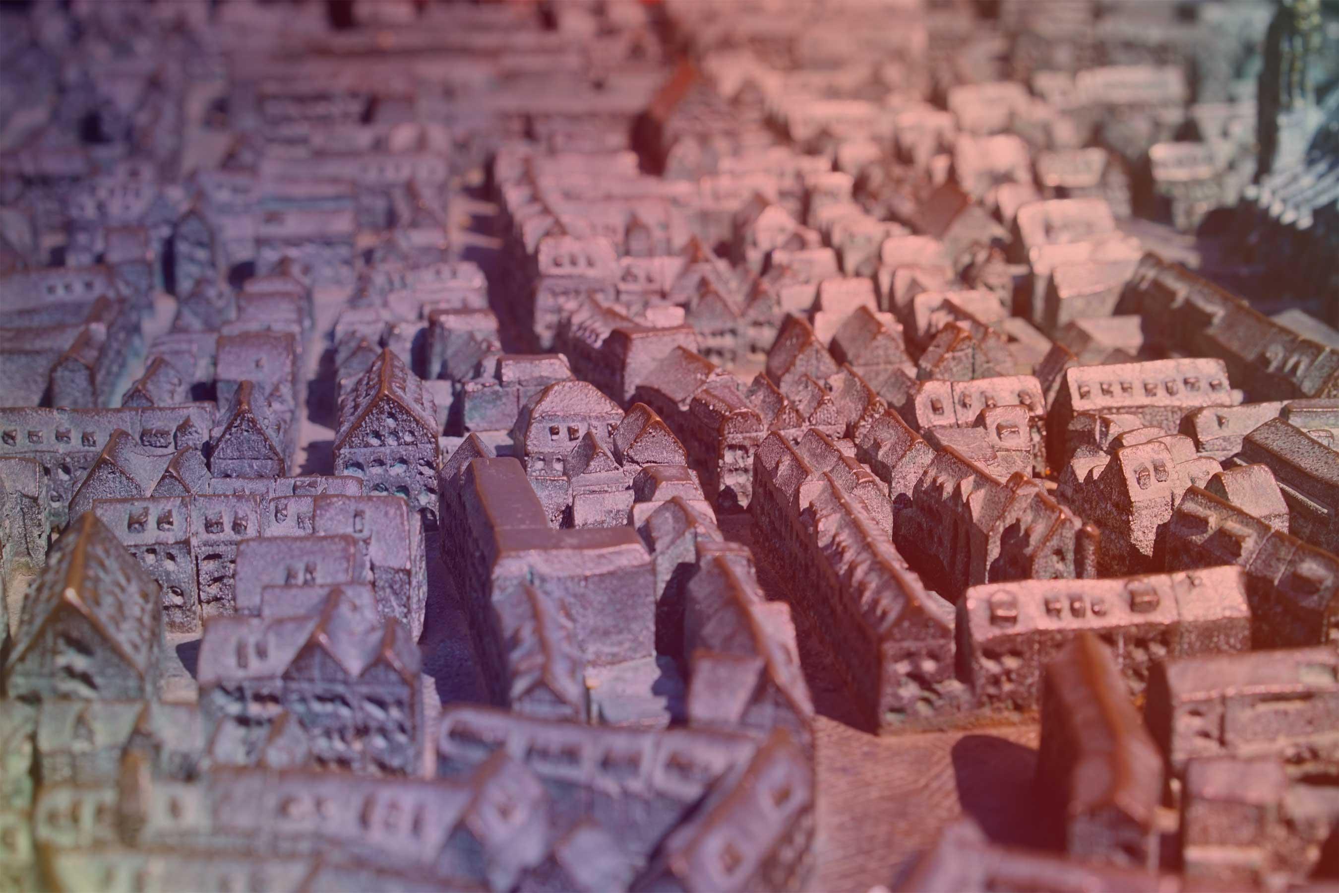 Spurensuche-Stadtrelief