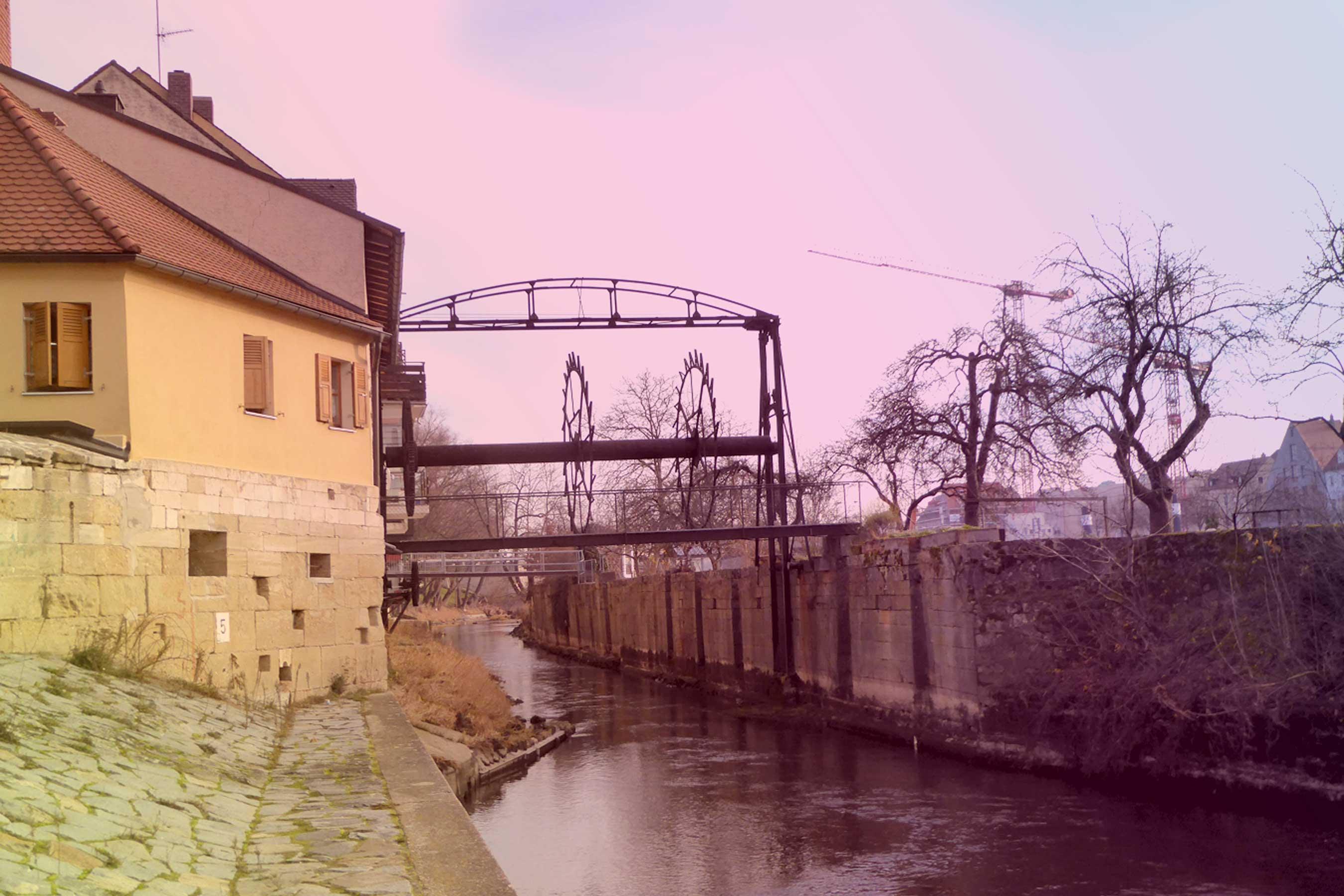 Spurensuche-Regensburg-Mühle