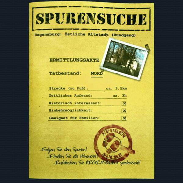 Spurensuche-Regensburg-Mord-Ost-Deckblatt